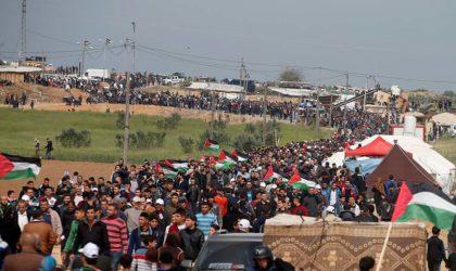 Gaza: Israël tue un civil palestinien et blesse 120 autres