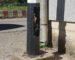 Algérie : un poteau électrique à .. eau