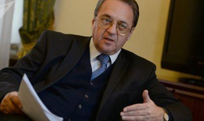 Sommet arabe : Bensalah reçoit l'envoyé spécial de Poutine pour l'Afrique et le Moyen-Orient