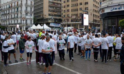 Alger-Centre: course «Esprit libre dans un corps sain»