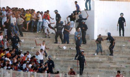 Skikda: 39 blessés dans des incidents survenus après le match JSMS-ASO Chlef