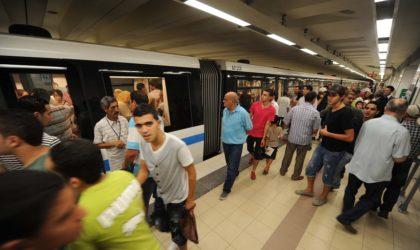 Métro d'Alger: les horaires d'exploitation actuels maintenus jusqu'au 1er jour du Ramadhan