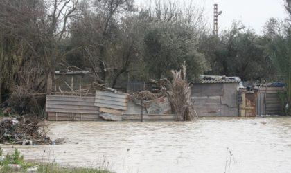 El-Bayadh : trois automobilistes emportés par un oued en crue