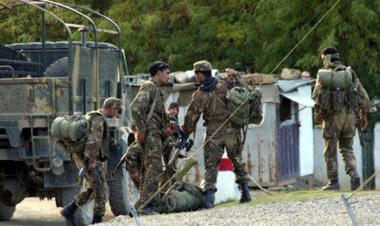 Trois terroristes armés de kalachnikovs capturés par l'ANP à Jijel