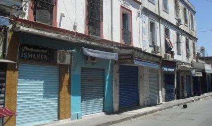 Grève générale des commerçants et des fonctions libérales à Tizi-Ouzou