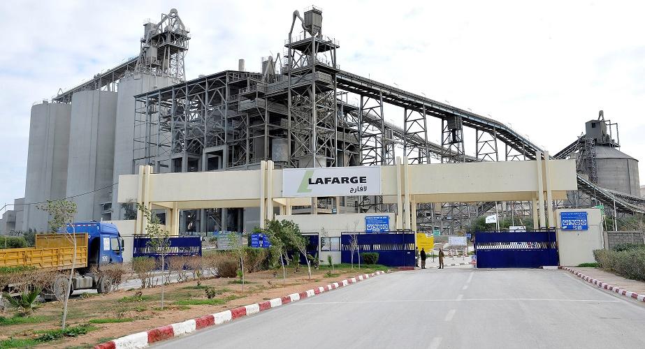 LafargeHolcim Algérie exportation ciment