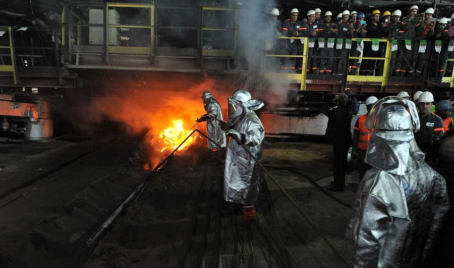 sidérurgie Algérie EAU