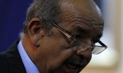 Abdelkader Messahel: «Les terroristes utilisent onze sources de financement»