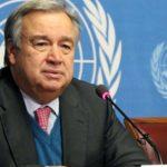 Guterres condoléances familles peuple gouvernement