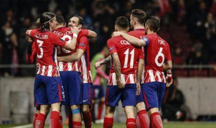 Quart de finale aller de l'Europa League: l'Atlético Madrid bat le Sporting Portugal