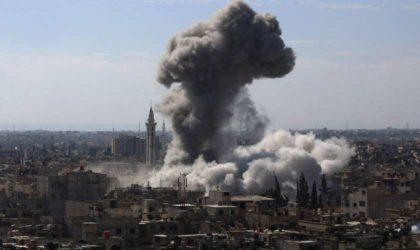 Nouveaux raids aériens contre Douma: plus de 30 civils, dont plusieurs enfants, tués