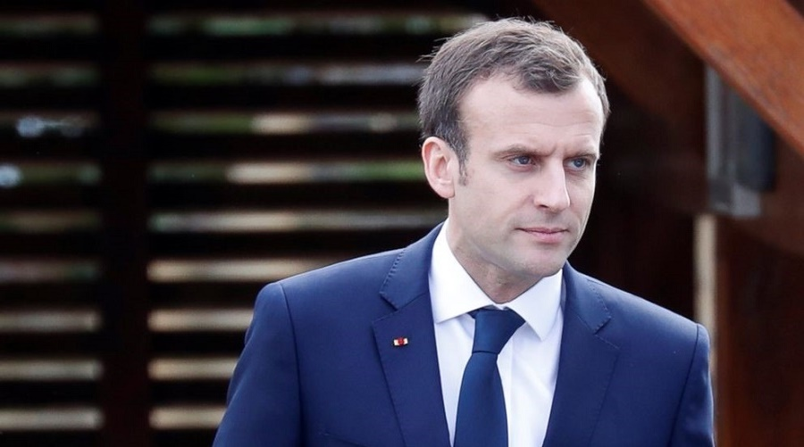 Macron condoléances Bouteflika crash