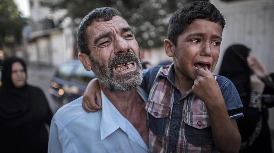 mort palestinien