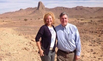 L'Américain John Desrocher se promène dans une Algérie «à haut risque»