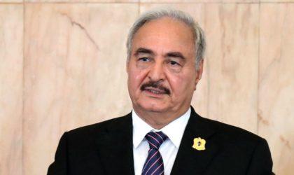 Le maréchal Khalifa Haftar serait hospitalisé à Paris