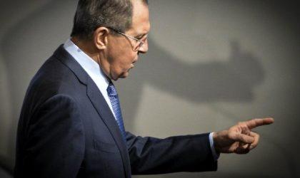 Sergueï Lavrov hausse le ton : «Personne ne peut humilier la Russie !»