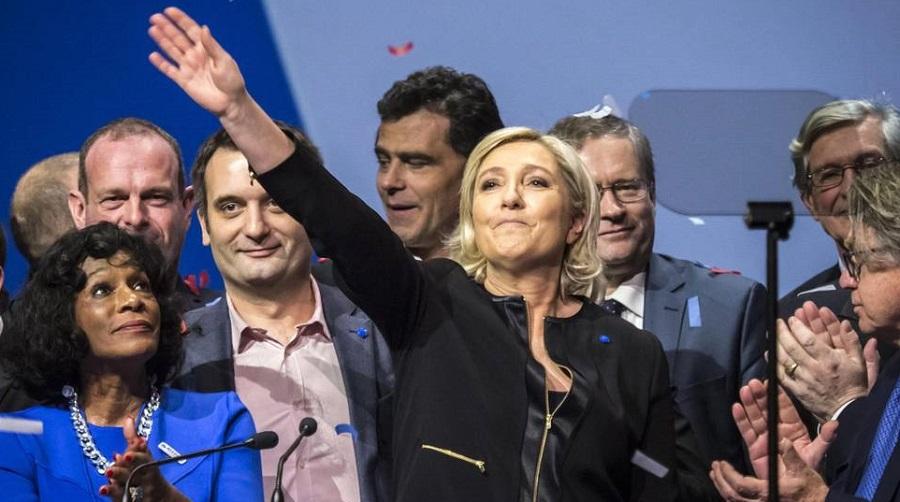 Le Pen Front national Macron