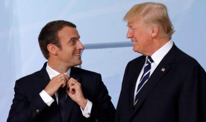Accord sur le nucléaire iranien : Macron et Trump en bisbille