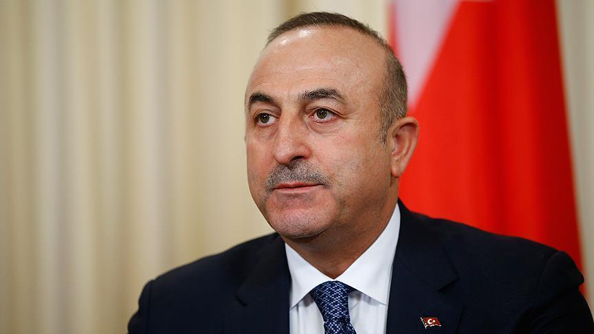 Condoléances Cavusoglu