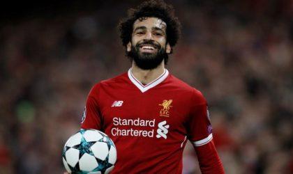 Mohamed Salah finaliste pour le trophée du Joueur de l'année