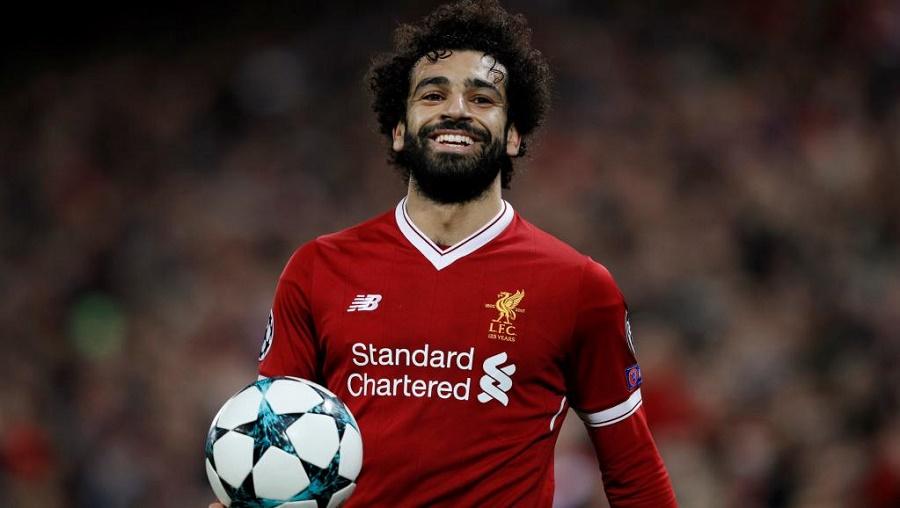 Mohamed Salah trophée Joueur de l'année
