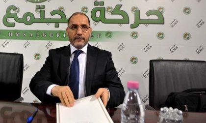 Frappes occidentales en Syrie: le MSP ignore la position officielle de l'Algérie
