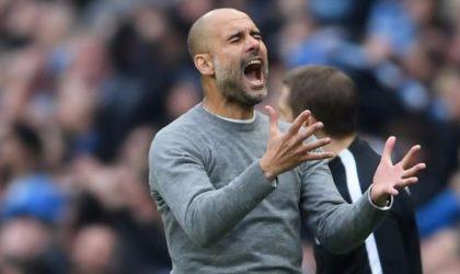 Manchester City-Liverpool: Guardiola exclu pour avoir protesté contre l'arbitre