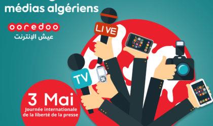 Ooredoo présente ses meilleurs vœux aux médias algériens