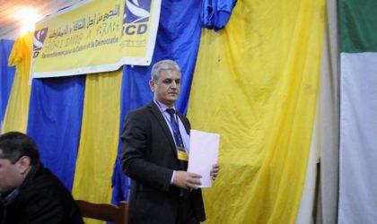 Le RCD dépose plainte contre le maire de Draâ El-Mizan et un député pour tentative de séquestration