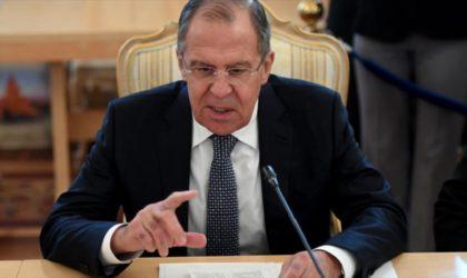 Lavrov: «Dans l'affaire Skripal, l'OIAC a trafiqué les résultats de son enquête»