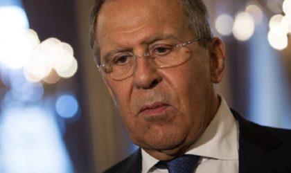 Lavrov: «L'attaque chimique présumée en Syrie est une mise en scène»