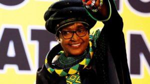 Winnie Mandela Afrique du Sud