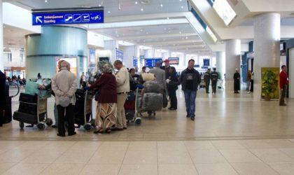 Fausse alerte à la bombe à l'aéroport d'Alger: une Marocaine condamnée à 18mois de prison