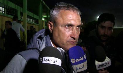 Bouzidi entraîneur de la JS Kabylie : «Nous avons les moyens de remporter le trophée»