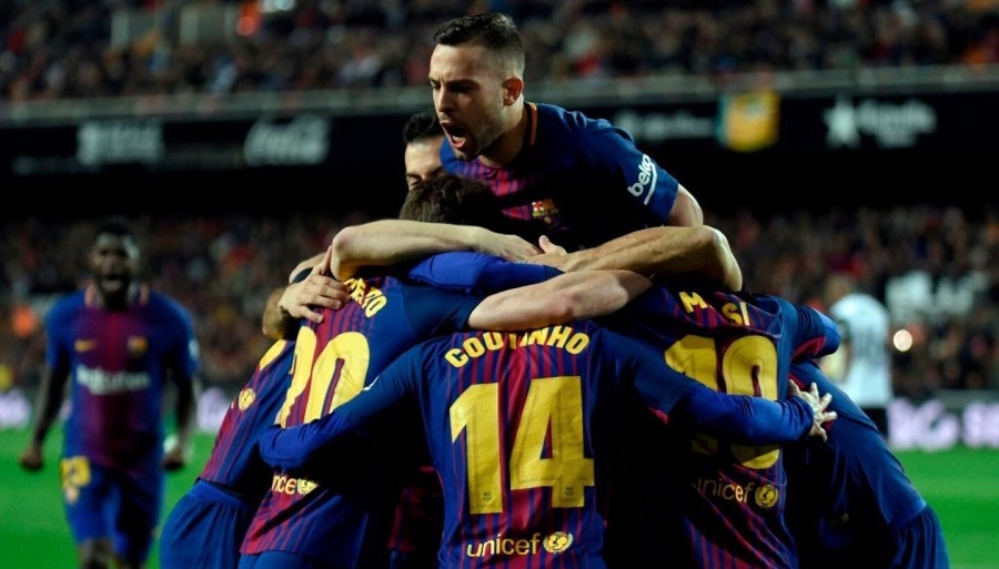 Ligue des champions quart aller Barcelone la Roma