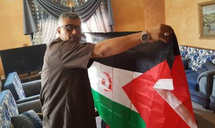 Les Palestiniens brandissent le drapeau sahraoui: le Makhzen tremble