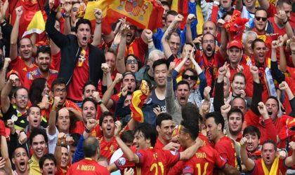 Les supporters espagnols crient «Palestine !»