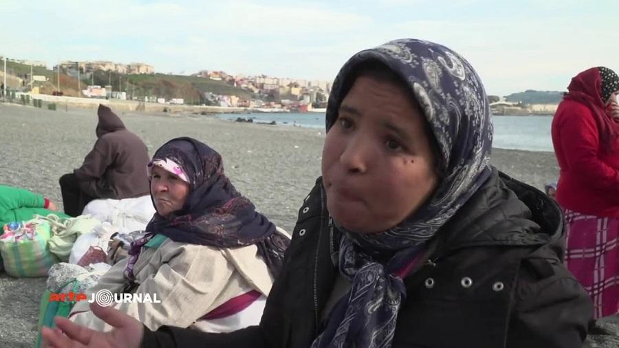 femmes mulets Maroc misère