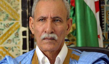 Sahara Occidental : Brahim Ghali en visite de travail en Afrique du Sud