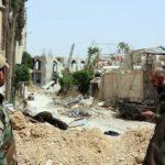 armée syrienne, offensive, Hajar -Aswad, Daech