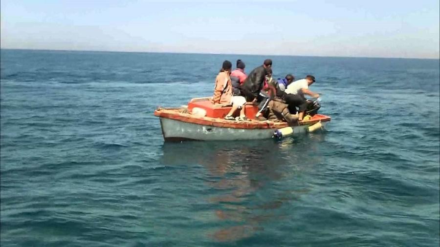 harraga embarcation Oran
