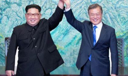 Sommet intercoréen: signature de la Déclaration de Panmunjom