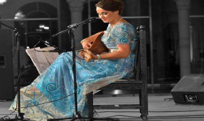 Lila Borsali en concert à Annaba