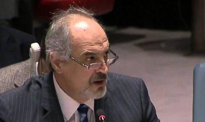 Bachar Al-Jaafari dédie quelques vers au représentant saoudien auprès de l'ONU