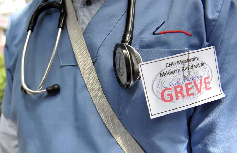 médecins grève