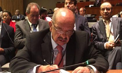 Lutte contre le financement du terrorisme en Afrique : l'Algérie plaide pour une «stratégie cohérente»