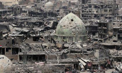 Irak: 50 millions de dollars pour reconstruire Mossoul
