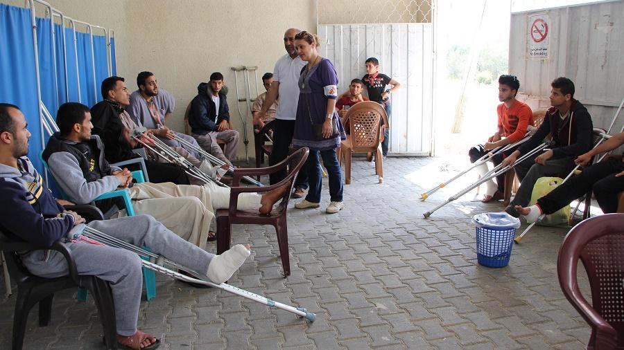 MSF blessés Gaza
