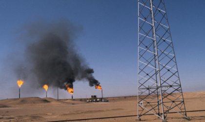 Baisse de la production du pétrole et gaz au quatrième trimestre 2017