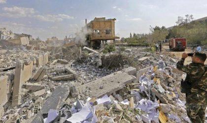 La Syrie à nouveau bombardée